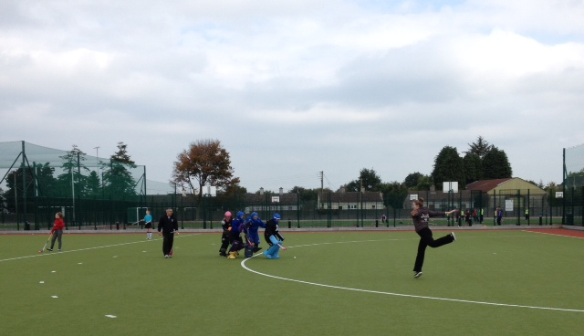 U14 Goalie Training Oct 2015