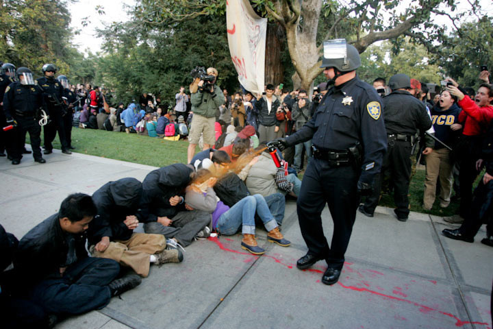 Interview with a Pepper-Sprayed UC Davis Student