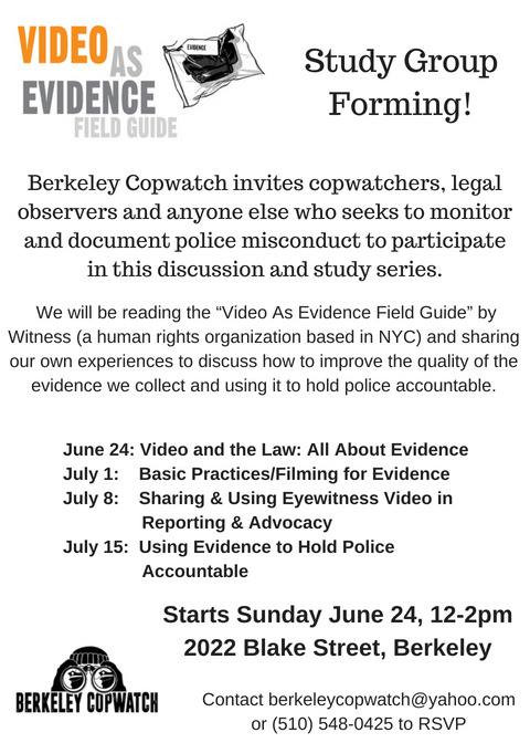 Video as Evidence Study Group