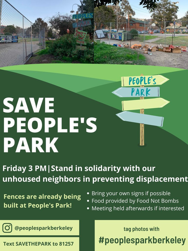 Rally to Save People's Park