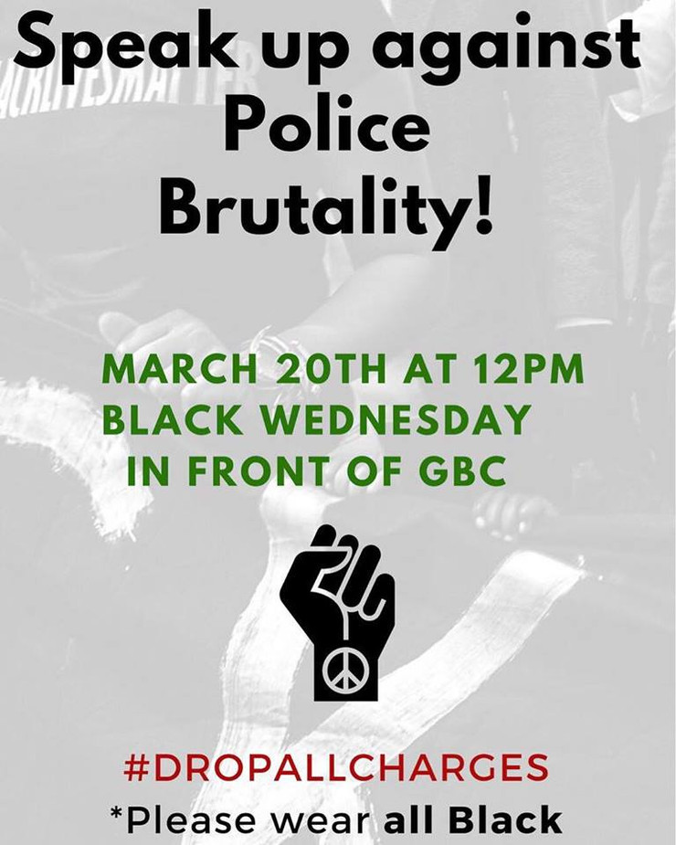 Rally in Support of Black Students Arrested by UCPD