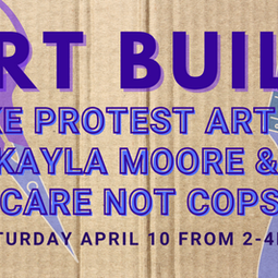 Tomorrow! Saturday 4/10: Art Build!