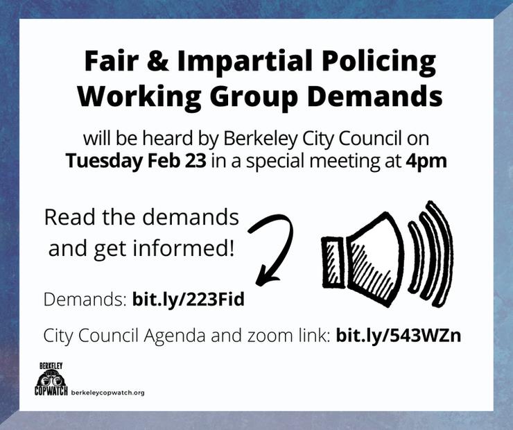 Berkeley Must Address Racial Profiling