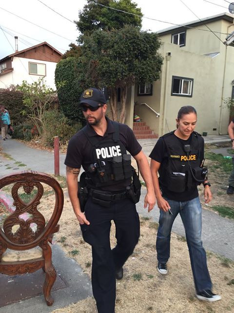 Berkeley Cops Conduct a Raid with NO Identifying Name or Badge Number