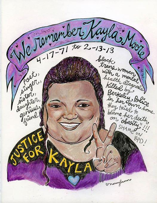 WE REMEMBER KAYLA MOORE
