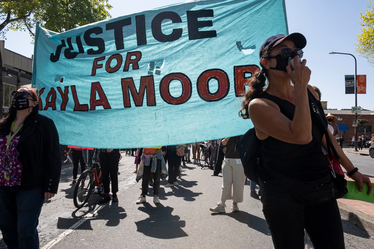 A Powerful Moment: Care NOT Cops, Justice 4 Kayla Moore