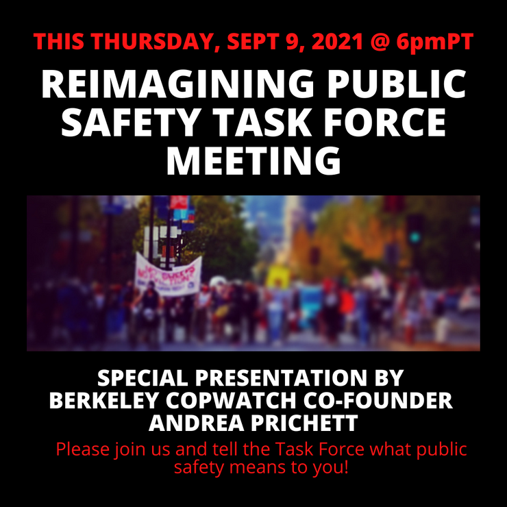 Re-Imagining starts with the PEOPLE not the POLICE