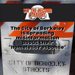 """Copwatch Responds to Misinformation about City's """"Homeless Response"""""""