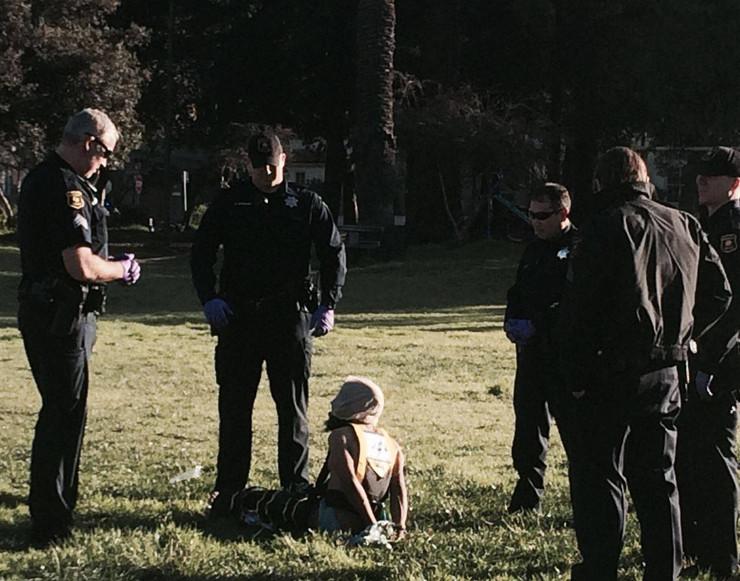 No Spit Hoods in Berkeley!