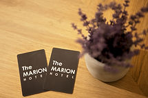 Grey Room Keycard on Table Top