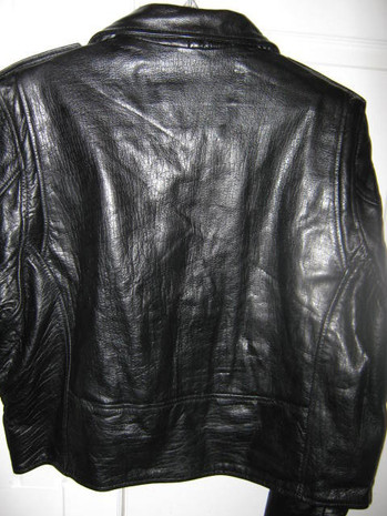ladies jacket - back