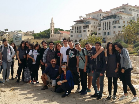 YAFFO, fouilles archeologiques – Avril 2017