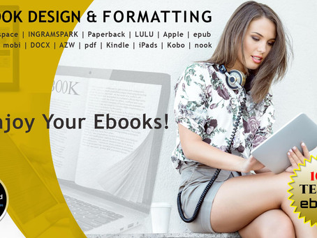 What is eBook formatting and Interior Book Design?
