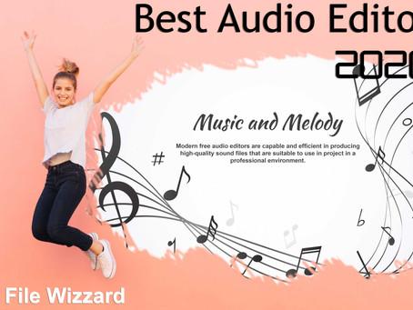 Best Audio Editor 2020