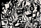 Roaming, gouache on paper, 38x57cm, 2010