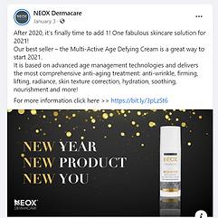 Neox social post