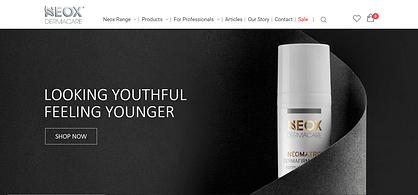 Neox Dermacare website