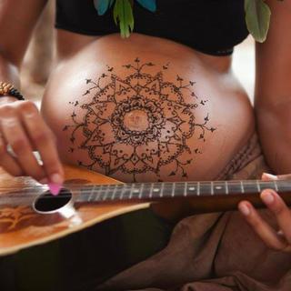 חן חינה - קעקוע חינה. טקס מנדלה הריונית 2010 chen heny - henna artherapy