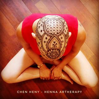חן חינה- כתר חינה עם רשת הגנה henna crown 201
