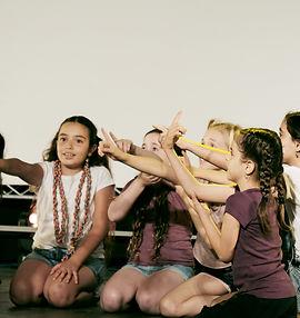 מקהלת העפרוני בכיתה