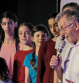 מקהלת העפרוני בפעילות קהילתית