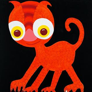 Jumpy rings cat