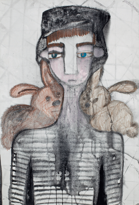Untitled (rabbits)