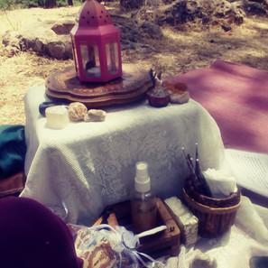 חן חינה - הגעתי לעטר עם חינה במסיבת רווקות בטבע, הרי ירושלים 2020