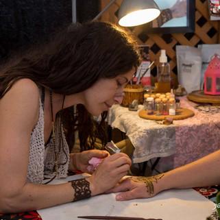 חן חינה -מעטרת בפסטיבל לה אינדיגה 2016