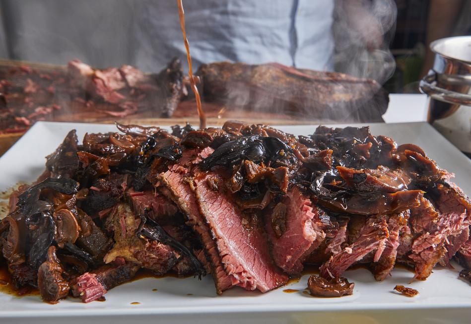 בשר חם באירוע קייטרינג