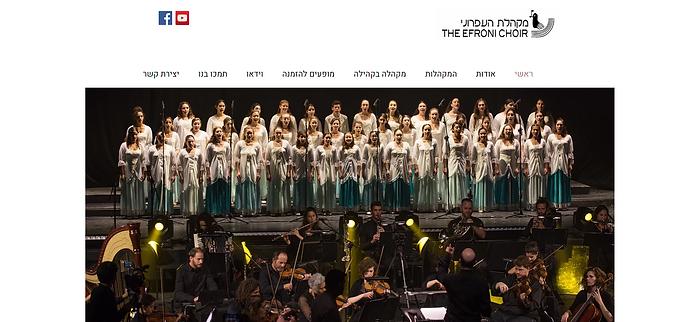 שדרוג אתר וויקס למקהלה