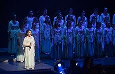 מקהלת העפרוני בהופעה סולו