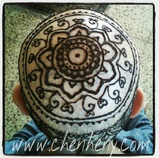 חן חינה- henna crown עיטור כתר חינה 2012
