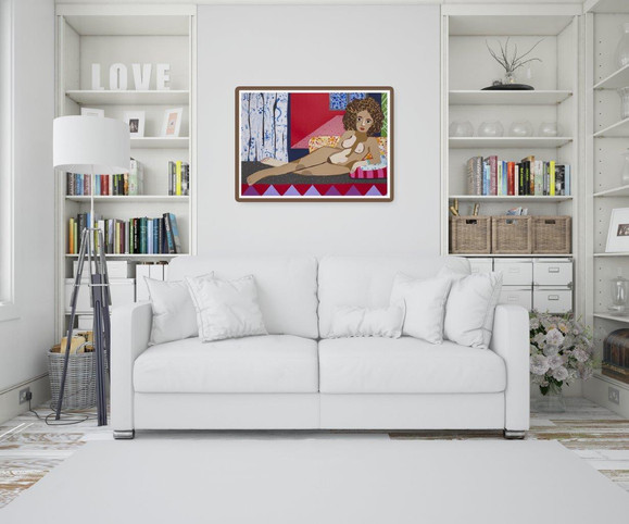 Odalisque after Matisse