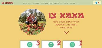 אתר של פרוייקט חברתי להנגשת מידע