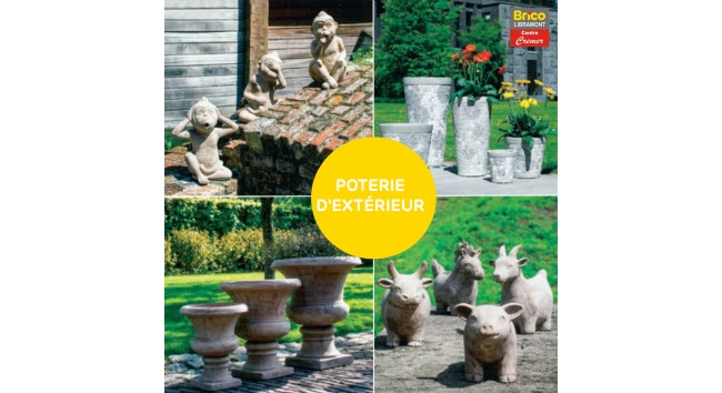 Grand choix de poterie en stock