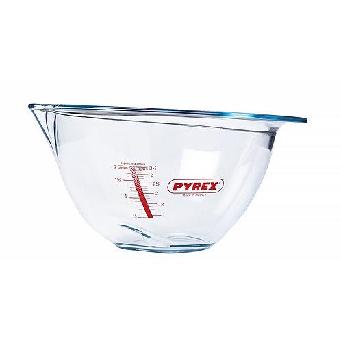 Bol mélangeur en Verre Borosilicate 4,2l - 30cm Pyrex