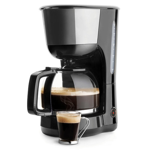 Cafetière à filtre 1,25 L - 1000W Lacor