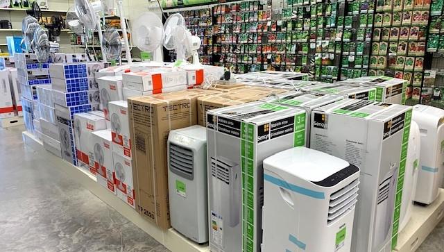 Grand choix de climatisations et ventilateurs en magasin
