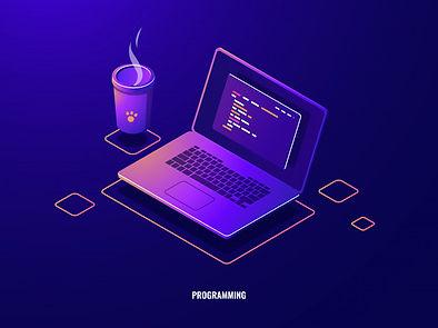 laptop-with-program-code-isometric-icon-