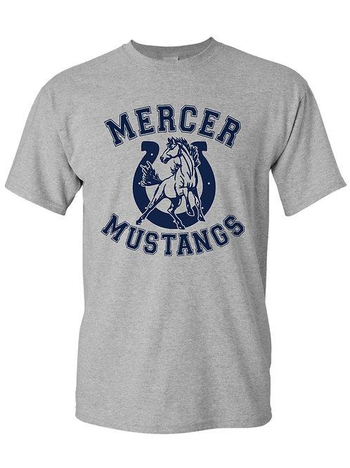 Gray Mustang T-Shirt