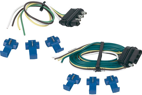 Hopkins 48205 4 Wire Flat Connector Set with Splice Connectors
