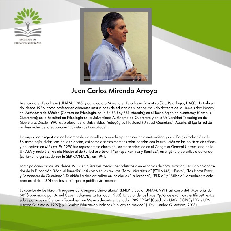 C. Mtro. Juan Carlos Miranda Arroyo (UPN)