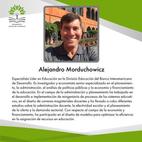 Mtro. Alejandro Morduchowicz (BID)