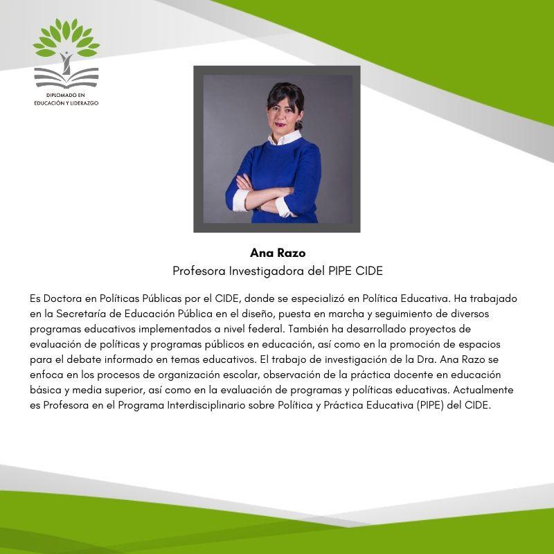 Dra. Ana Elena Fierro Ferréz (CIDE)