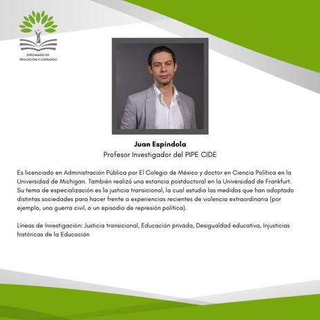 Dr. Juan Espíndola Mata