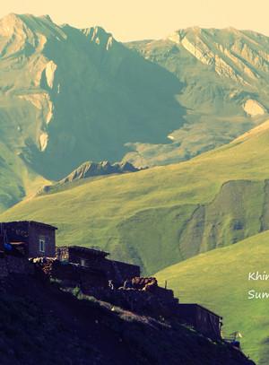 Khinalig - a village of one ethnic group