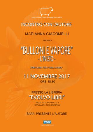 Incontro con l'autore: Marianna Giacomelli.