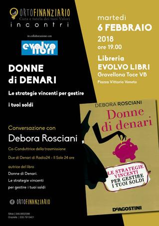 """""""Donne di denari"""" con Debora Rosciani"""