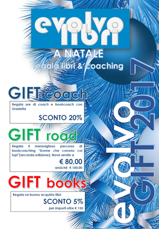 Evolvo Gift: a Natale regala libri & coaching